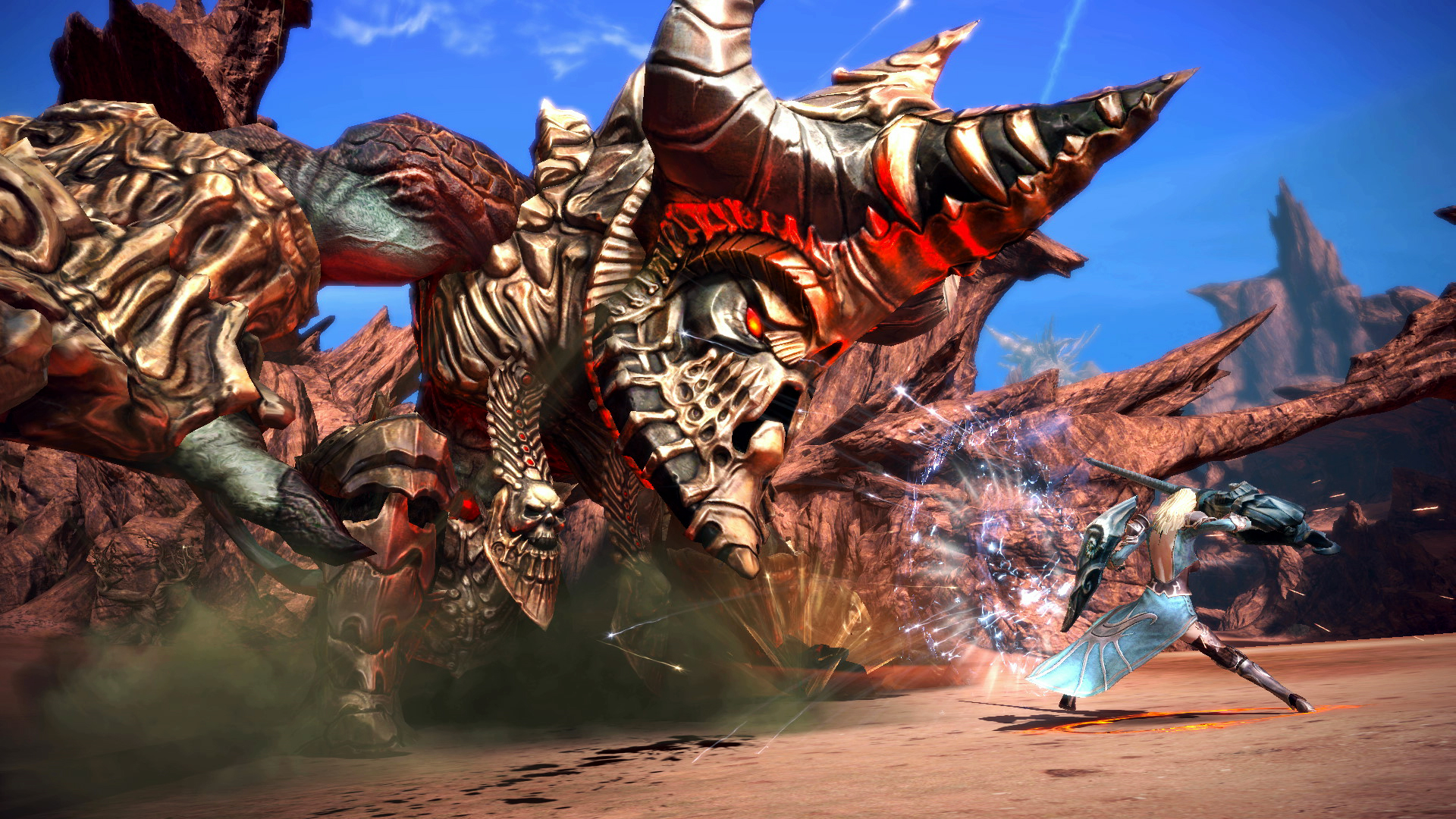 Tera screenshot lancer vs vulcan