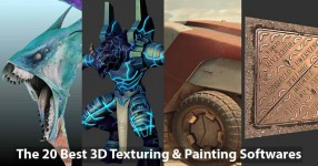 The 20 Best 3D Texturing & Painting Softwares