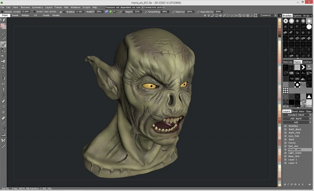 Free 3D Model Texturing Software Update