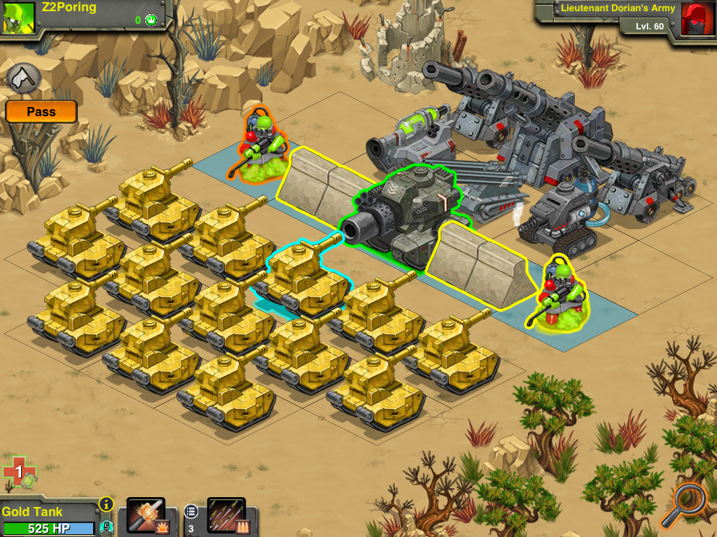Battle Nations screenshot