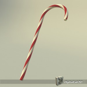 Cane-christmas-free-3d-model