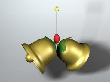 Christmas-Bell-free-3d-model