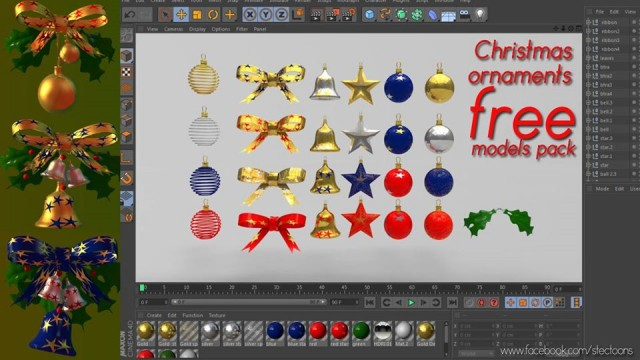 The 40+ Best Free Christmas 3D Models | Page 2 of 2 - RockThe3D