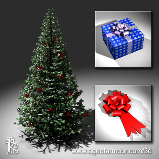 Christmas-tree-ornaments-free-3d-model