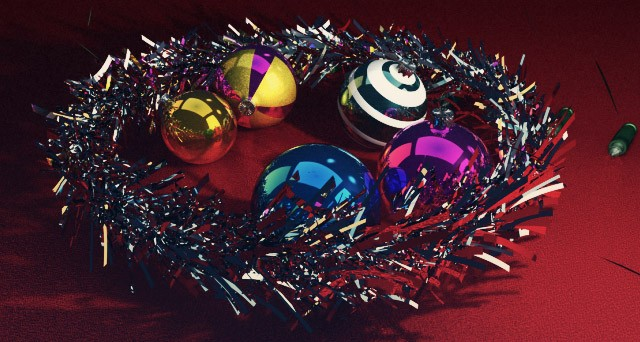 Free-C4D-Model-Christmas