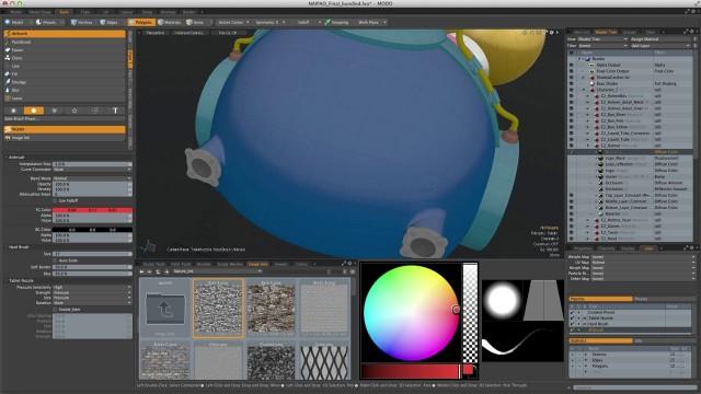 MODO-screenshot