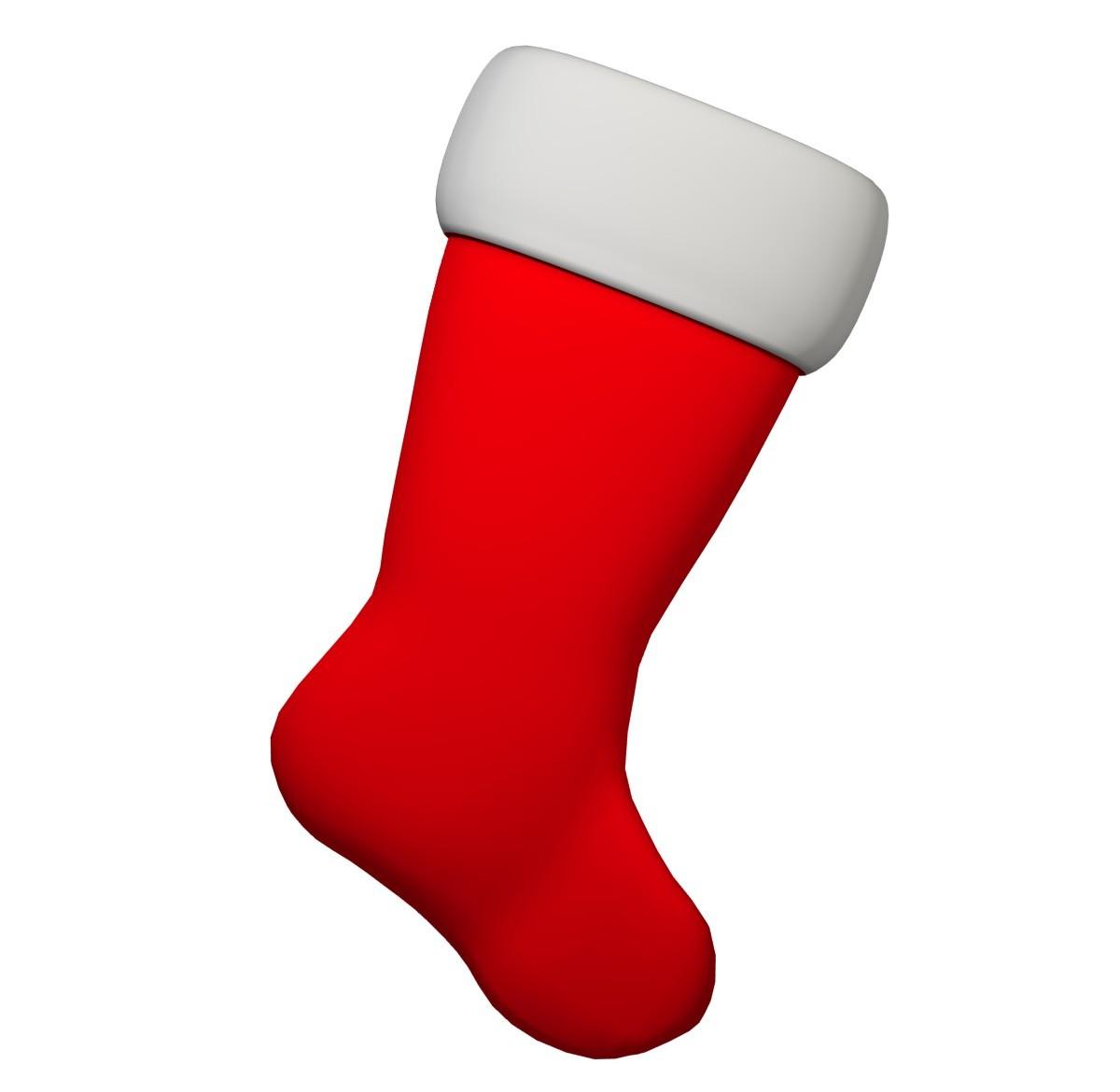 free-stocking-3d-model