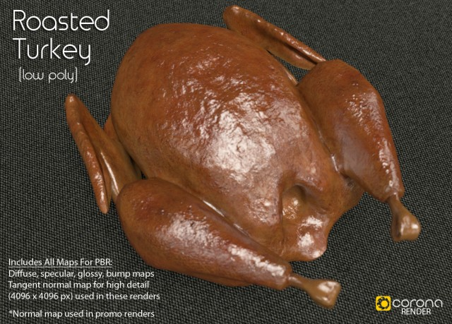 free_3d_model_roasted_turkey_by_luxxeon