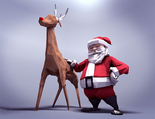 The 40+ Best Free Christmas 3D Models - RockThe3D