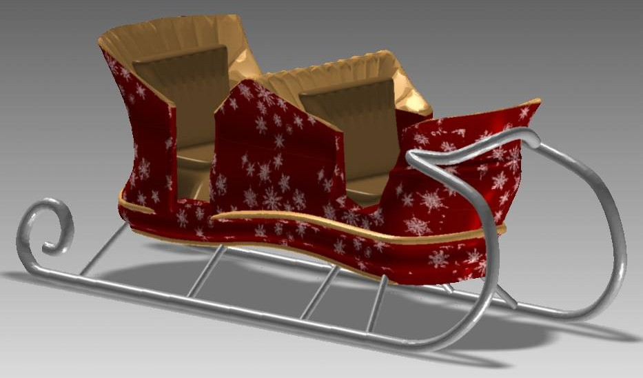 sleigh-santa-free-3d-model