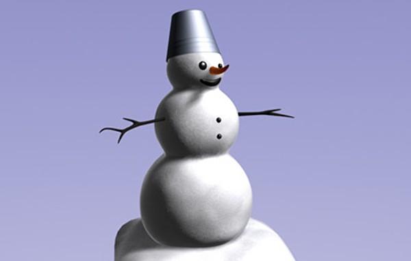 snowman-free-3d-model