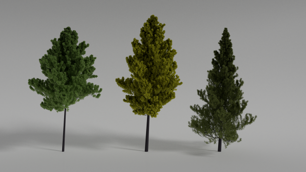 trees-christmas-free-3d-model