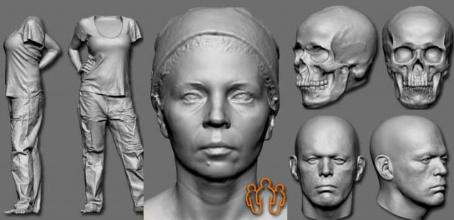 3D-Digital-Doubles-free-scans