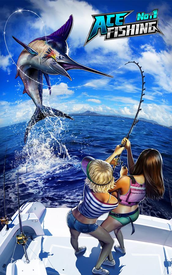 Ace Fishing Wild Catch screenshot