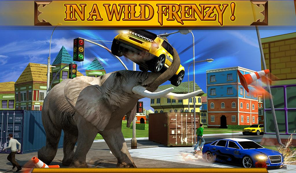 Angry Elephant Attack 3D screenshot