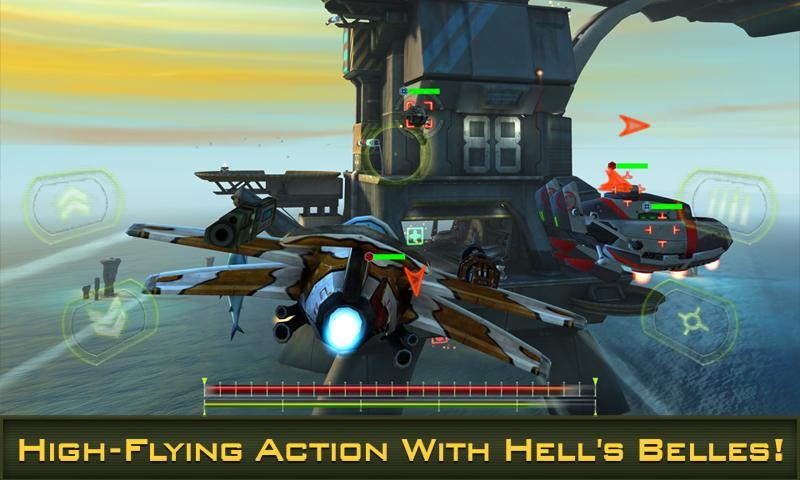 BOMBSHELLS HELL'S BELLES screenshot