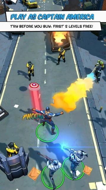 Captain America TWS screenshot