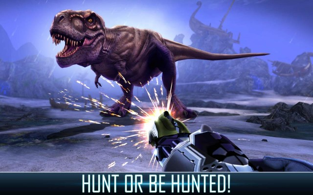 DINO HUNTER DEADLY SHORES screenshot