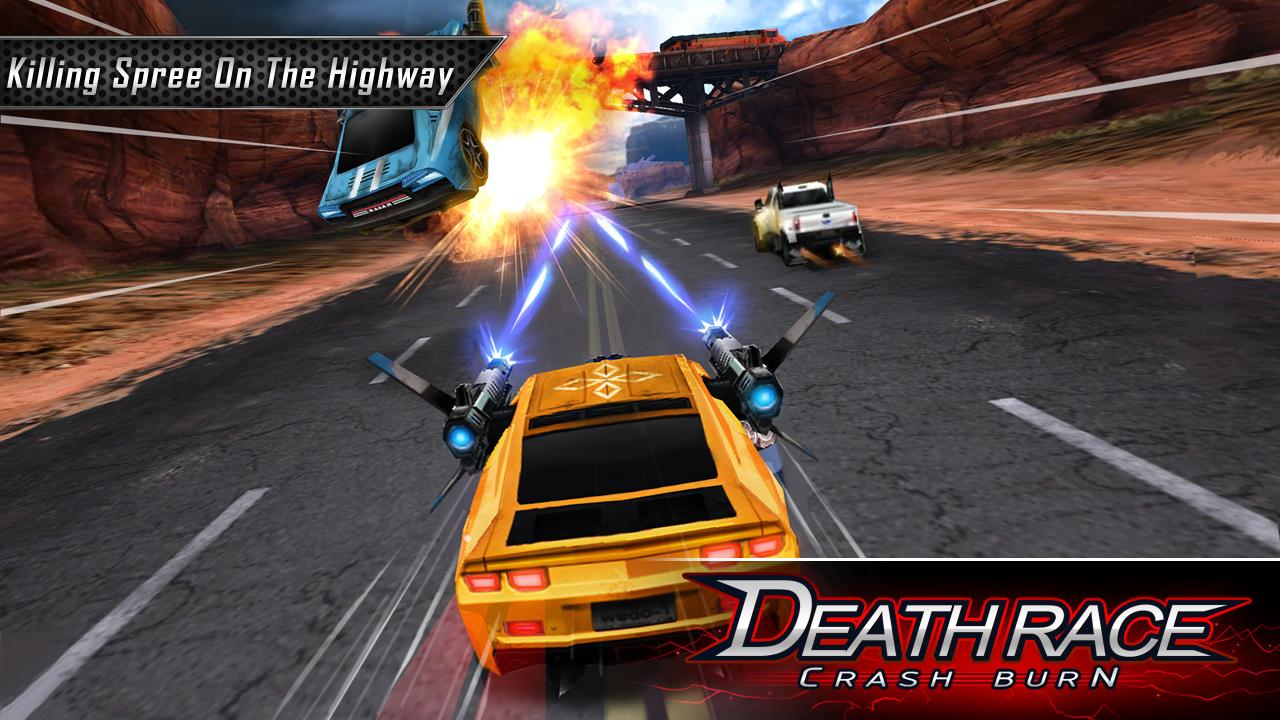 Death Race Crash Burn screenshot
