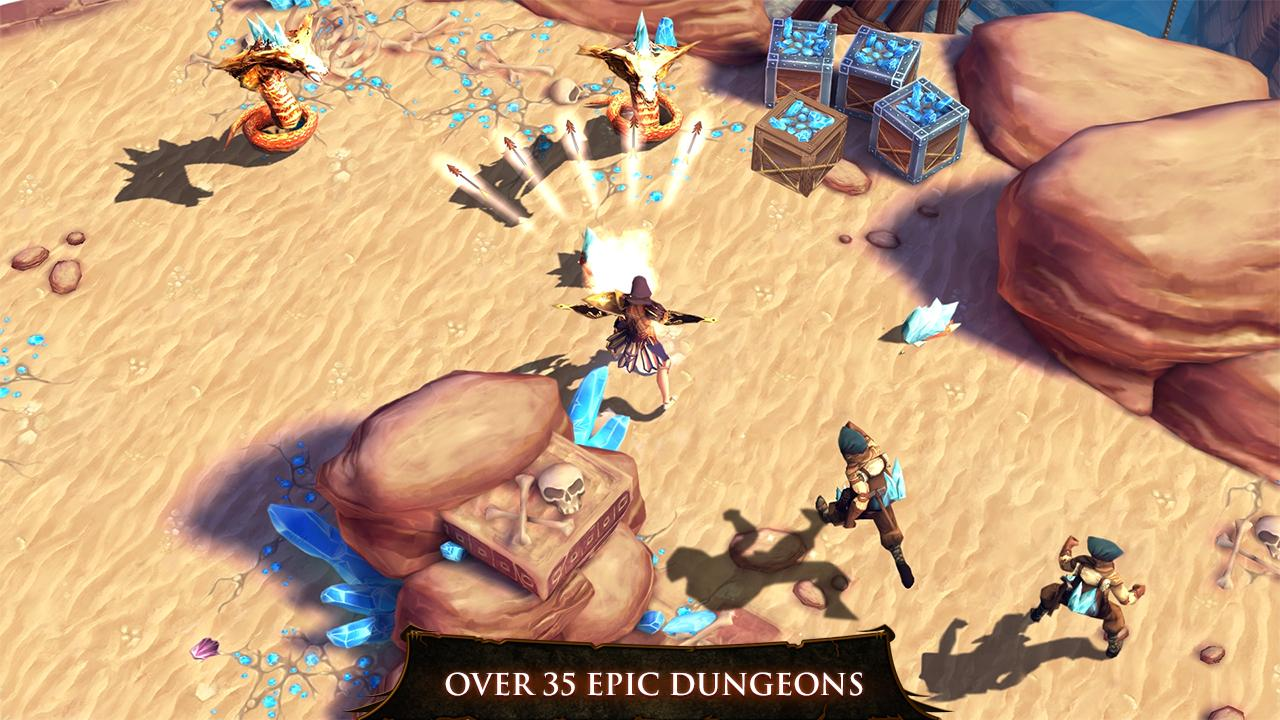 Dungeon Hunter 4 screenshot