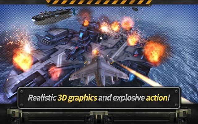 GUNSHIP BATTLE Helicopter 3D screenshot