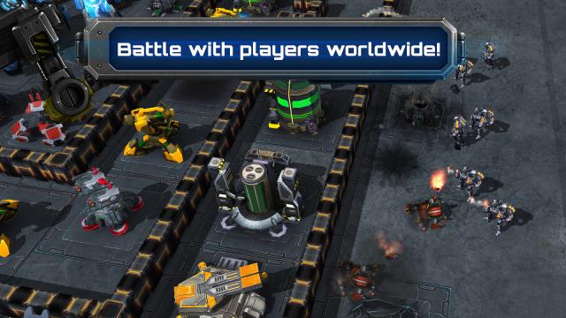 Galaxy Control 3d strategy screenshot