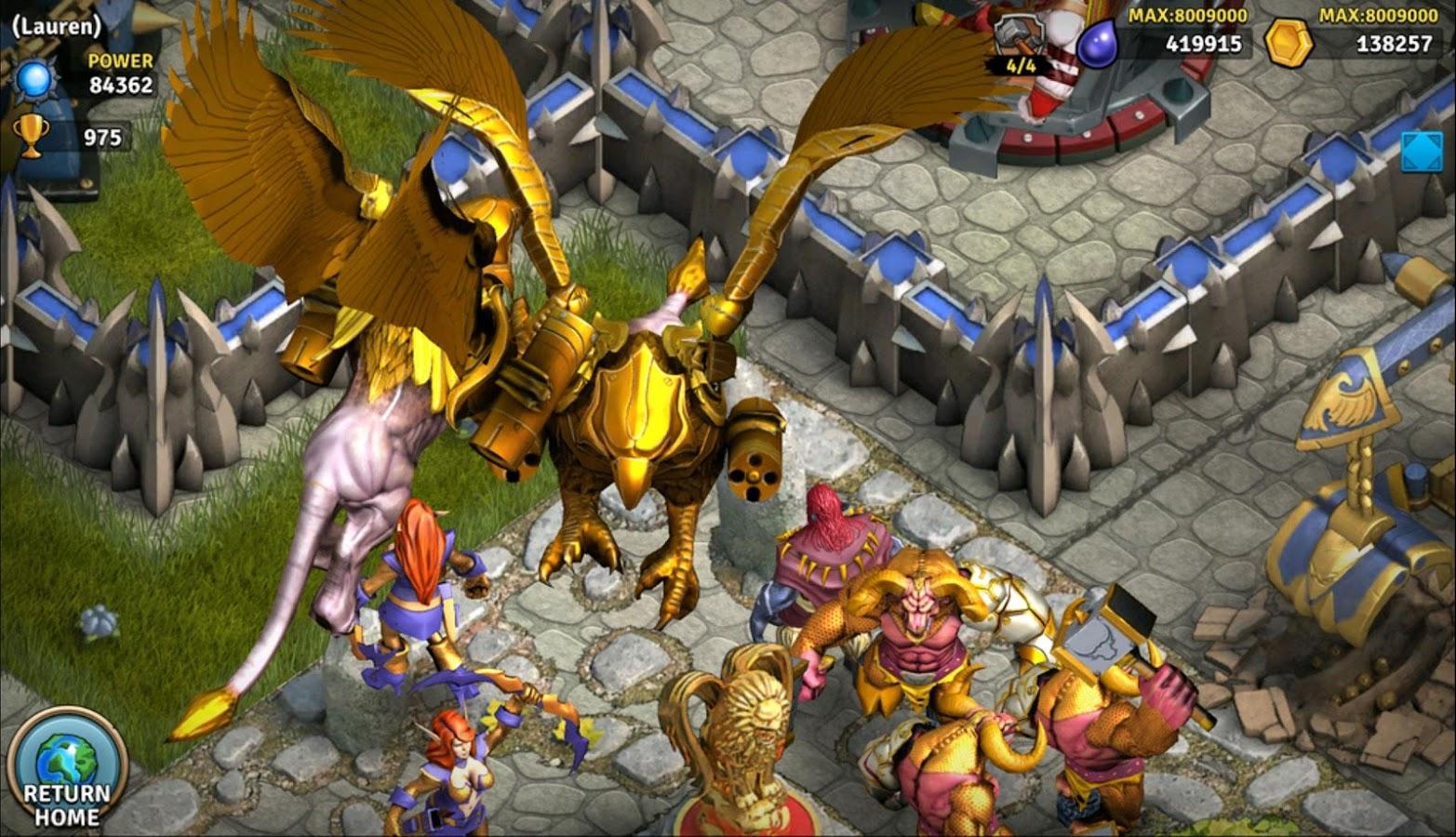 Heroes of War Orcs vs Knights screenshot