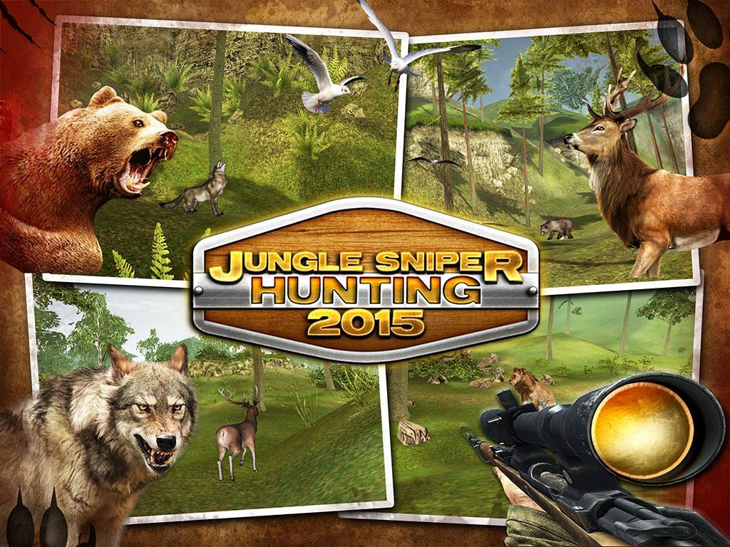 Jungle Sniper Hunting 2015 screenshot