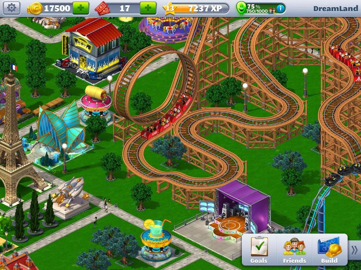 RollerCoaster Tycoon 4 Mobile screenshot