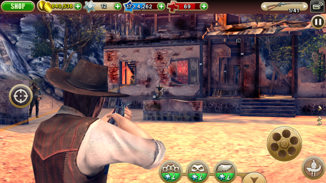Six-Guns Gang Showdown screenshot