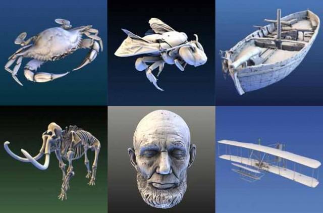 Smithsonian X 3D scan model