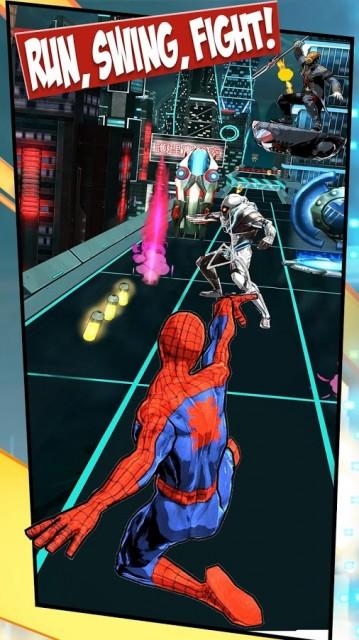 Spider Man Unlimited screenshot