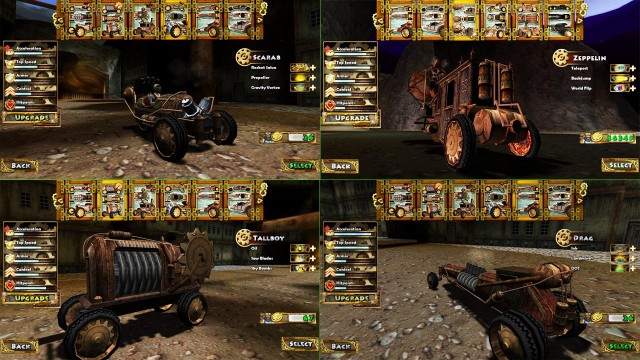 Steampunk Racing 3D screenshot