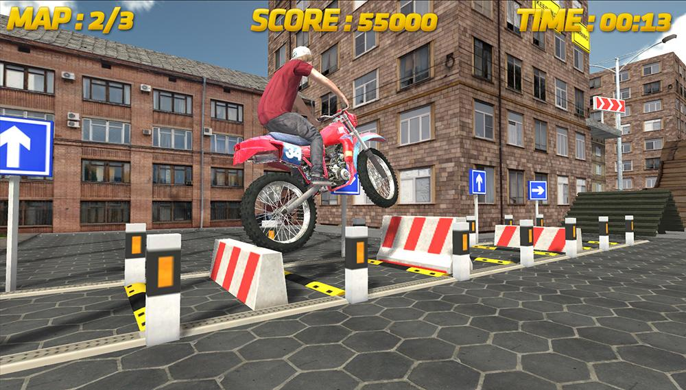 Stunt Bike Racing 3D screenshot