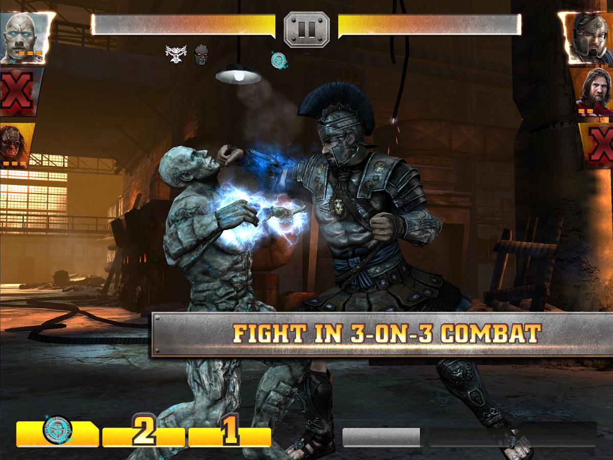 WWE Immortals screenshot