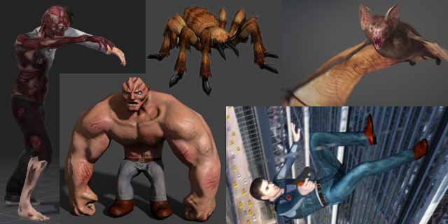 50 Best Free Animated 3D Models - RockThe3D