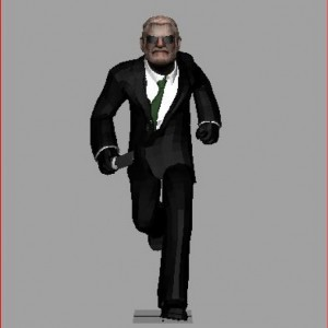 Agent-3d-model-animation