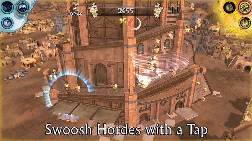 Babel Rising 3D! screenshot