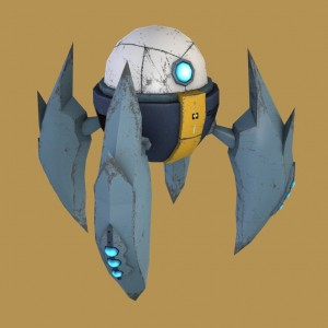 Bot-free-3d-animated-model