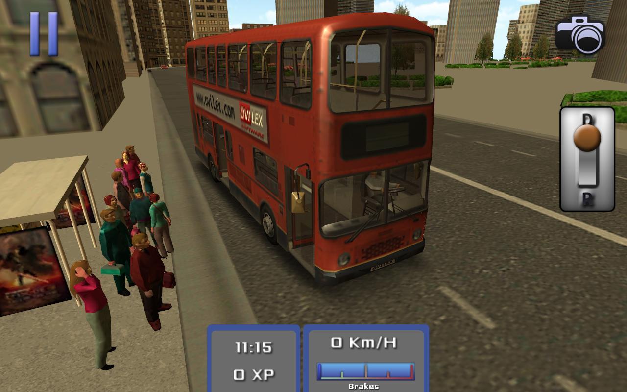 Bus Simulator 3D screenshot