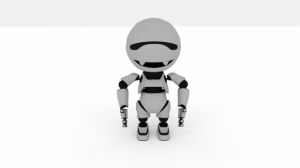 Concept-Robot-3d-model-animation