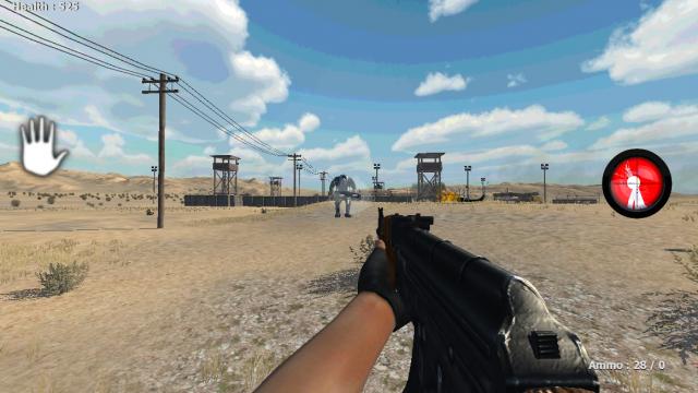 Desert Commando Battle screenshot