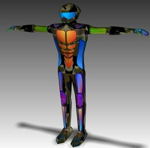 Exoskeleton-free-3d-animated-model