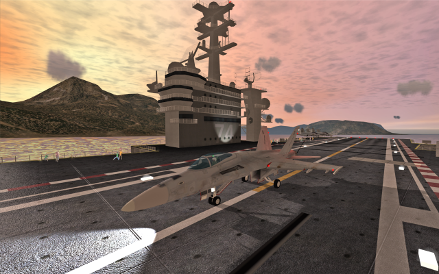 F18 Carrier Landing II screenshot