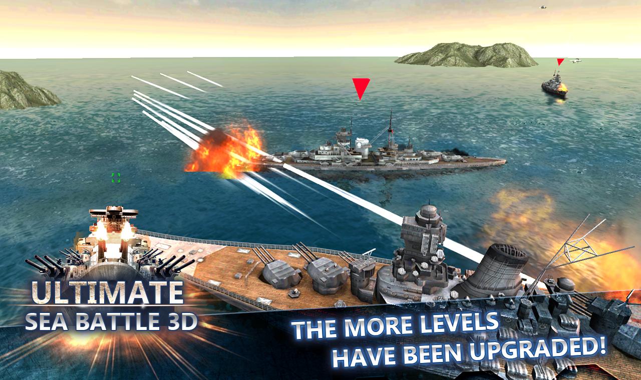 Sea Battle Warships (3D) screenshot