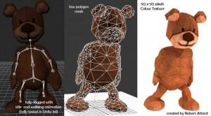 Teddy-bear-3d-animated-model