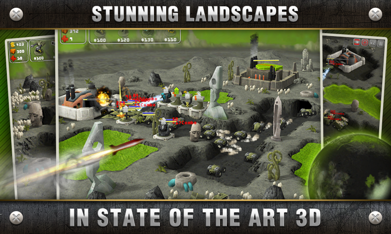 Total Defense 3D screenshot
