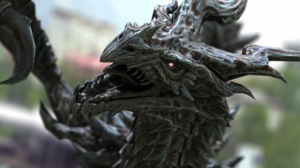 alduin-animated-skyrim-3d-model-free