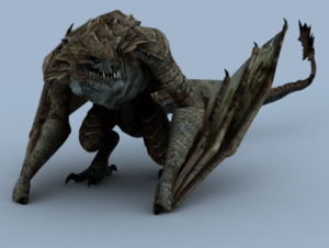 dragon-animated-3d-model-free