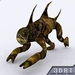 free-3d-animated-monster-model